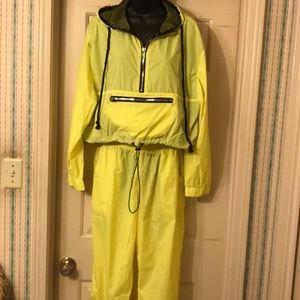 Neon 2-piece jogging suit (Band New)